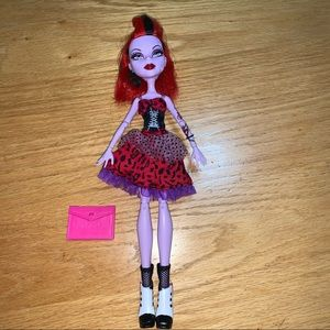 Monster high doll Operetta Picture Day